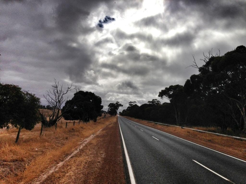 The Katanning Kojonup Rd in February