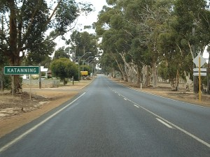 The road to Katanning